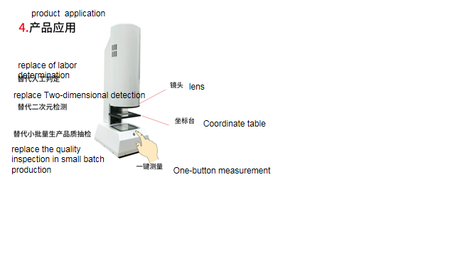 Cheap Easy Operation High Efficiency Manual Vision Measurement Equipment