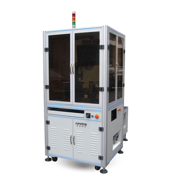 High Speed Glass Turntable Optical Inspection Sorting Machine