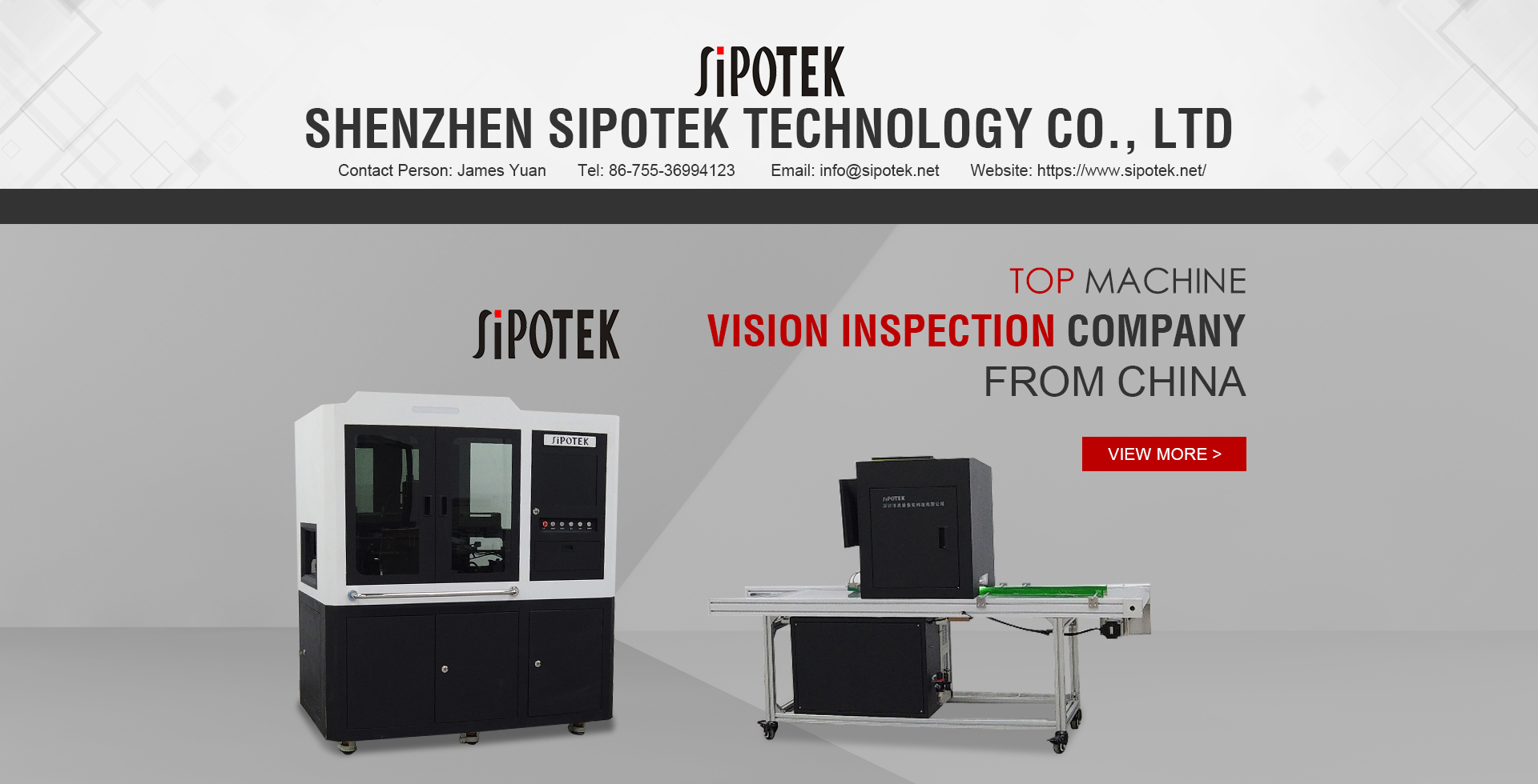 Car Components Auto Inspection Machine With Sony CCD Camera